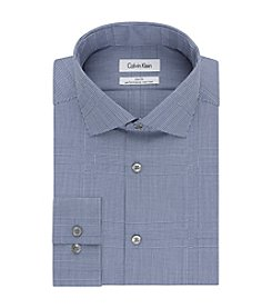 Calvin Klein Men's Gingham Slim Fit Dress Shirt