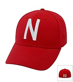 NCAA® Nebraska Men's Fitted Memory Foam Hat