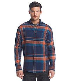 John Bartlett Consensus Men's Big & Tall Long Sleeve Flannel Plaid Button Down