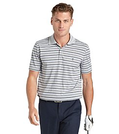 Izod® Men's Short Sleeve High Speed Feeder Stripe Polo
