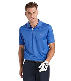 Izod® Men's Short Sleeve Vanishing Texture Polo