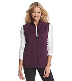 Exertek® Petites' Sweater Fleece Vest