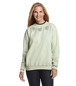 Morning Sun® Leaf Collection Fleece Sweatshirt