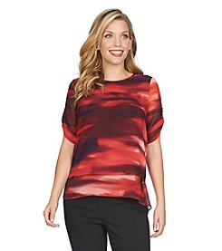 Chaus Twilight Skies Double Layer Top