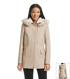 Gallery® Hooded Topper Coat