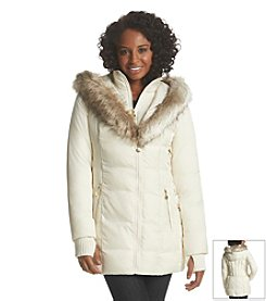 Betsey Johnson® Three-Quarter Puffer Coat