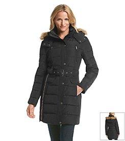 Tommy Hilfiger® Belted Puffer Coat