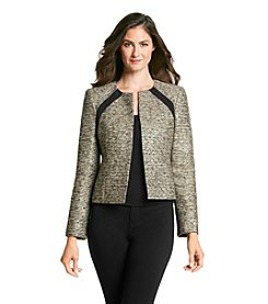 Kasper® Stripe Tweed Jacket