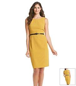 Kasper® Belted Dress