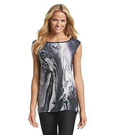 DKNY JEANS® Inky Print Top