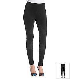 DKNYC® Faux Suede Blocked Pants