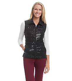 Laura Ashley® Sparkle Vest