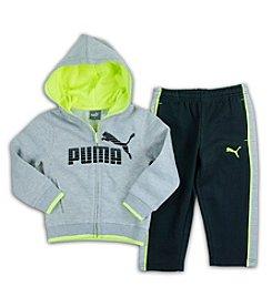 PUMA® Boys' 2T-7 #1 Logo Hoodie Set