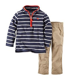 Carter's® Baby Boys' 3-24M Striped Pullover Top and Pants Set