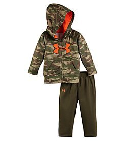 Under Armour® Baby Boys' Camo Print Hoodie And Pants Set