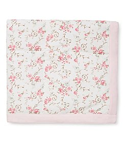 Little Me® Baby Girls' Graceful Floral Blanket
