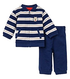 Little Me® Baby Boys' 3-12M Striped Jogging Set