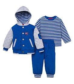 Little Me® Baby Boys Race Car Jacket Set