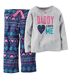 Carter's Girls' 12M-14 2-Piece Daddy Loves Me Pjs