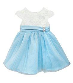 Rare Editions® Girls' 2T-6X Textured Top Dress