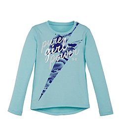 Under Armour® Girls' 2T-6X Pure Girl Power Tee