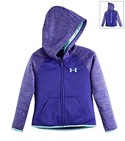 Under Armour® Girls' 2T-6X Linear Printed Full Zip Hoodie