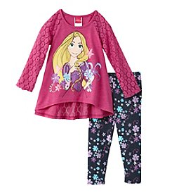 Disney® Girls' 2T-6X Rapunzel Spring Has Sprung Leggings Set