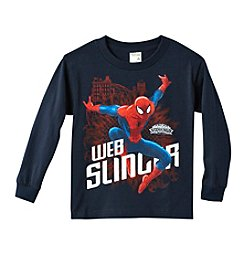 Marvel® Boys' 4-7 Spider-Man® Web Slinger Tee