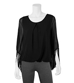 A. Byer Fringe Top