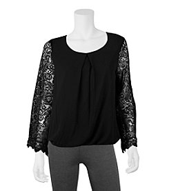 A. Byer Lace Top