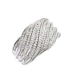 .33 ct. t.w. Diamond Ring in Sterling Silver