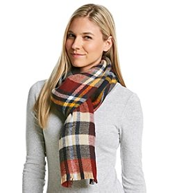 Ruff Hewn Plaid Square Wrap Scarf