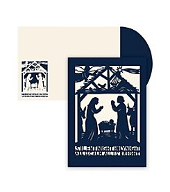 Masterpiece Studios Silent Night Laser Cut Boxed Holiday Greeting Cards