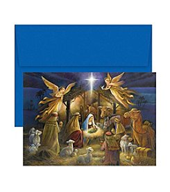 Masterpiece Studios A Holy Scene Boxed Holiday Greeting Cards
