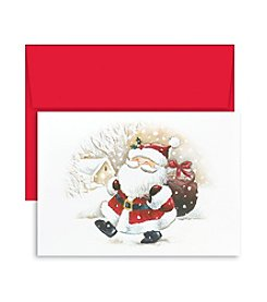 Masterpiece Studios Happy Santa Boxed Holiday Greeting Cards
