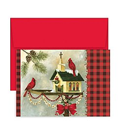 Masterpiece Studios Christmas Cardinals Boxed Holiday Greeting Cards