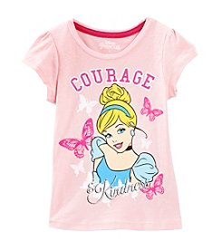 Nannette® Girls' 2T-6X Disney® Cinderella Kindly Courageous Tee