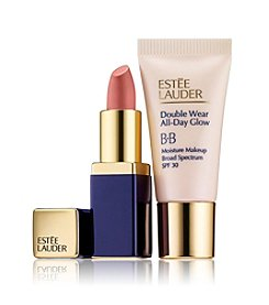 Estee Lauder All Day Glow + Sculpted Lips: Start Small. Your Perfect Size To Try.