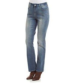 Vintage America Blues Boho Bootcut Jeans