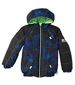 Hawke & Co.® Boys' 4-7 Printed Puffer Jacket