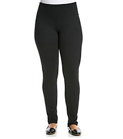 Calvin Klein Performance Plus Size Straight Leg Pants