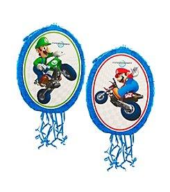 Mario Kart Wii Mario and Luigi Pull-String Piñata