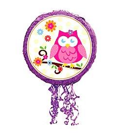 Owl Blossom Pull-String Piñata