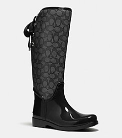 COACH TRISTEE RAINBOOT