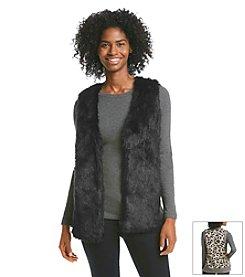 XOXO® Faux Fur Vest