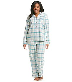 Intimate Essentials® Notch Collar Pajama Set