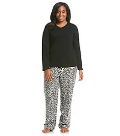 Intimate Essentials® Flannel Pajama Set