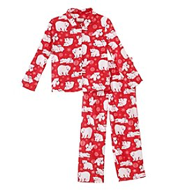 KN Karen Neuburger Kid's Fleece Pajama Set