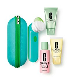 Clinique Clean Skin, Great Skin Gift Set For Oilier Skin ( A $123.50 Value)