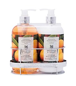 Brompton & Langley Orange Bergamot Bath Caddy